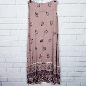 Charlotte Russe Long Maxi Skirt Large